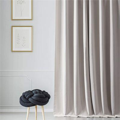New HPD Half Price Drapes BOCH-171113-120 Blackout Room Darkening Curtain (1 Panel), 50 X 120, Alabaster Beige