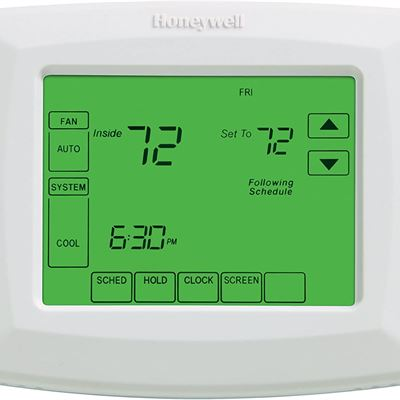 New Honeywell RTH8500D 7-day programmable thermostat with touch screen