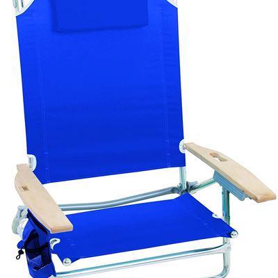 New Rio Beach Big Kahuna 5-Position Extra Large Folding Beach Chair