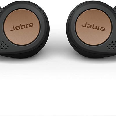 New Jabra Elite Active 75t True Wireless Bluetooth Earbuds, Copper Black Wireless Earbuds for Running and Sport, 4th Generation