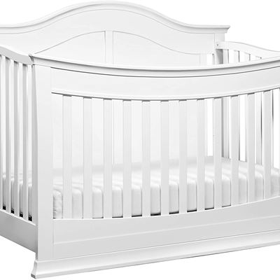 New DaVinci Meadow 4-in-1 Convertible Crib with Toddler Bed Conversion Kit, White