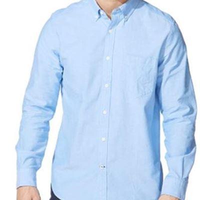 New Nautica Mens Men's Long Sleeve Button Down Oxford Shirt