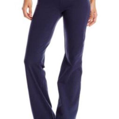 New Spalding Women's Plus Size Bootleg Pant Ultra Navy 1x Large