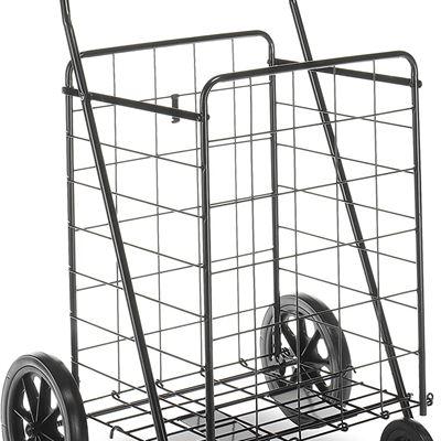 New Whitmor 6318-2678 Deluxe Rolling Utility Cart, Black