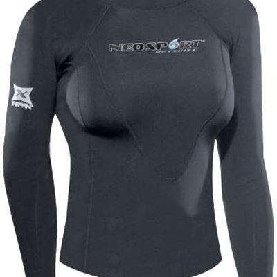 New Neo Sport Wetsuits Women's XSPAN Long Sleeve Shirt