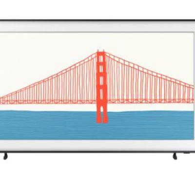 "New Samsung The Frame 50"" 4K UHD HDR QLED Tizen OS Smart TV (QN50LS03AAFXZC) - 2021"