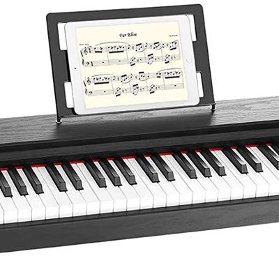 New ZHRUNS 88 Semi-Weighted Action Digital Piano,Portable Electric Piano with 1 Sustain Pedal,USB/MIDI Capability/Headphone Jack