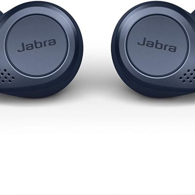 New Jabra Elite Active 75t True Wireless Bluetooth Earbuds, Navy � Wireless Earbuds For Running And Sport, Charging Case Included, 4th Generation