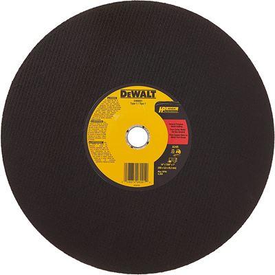 New DEWALT DW8001 General Purpose Chop Saw Wheel, 14-Inch X 7/64-Inch X 1-Inch