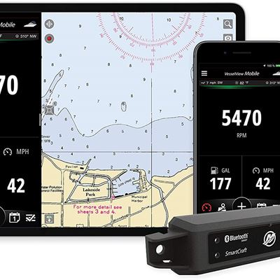 New Mercury VesselView Mobile - Connected Boat Engine System for iOS and Android Devices
