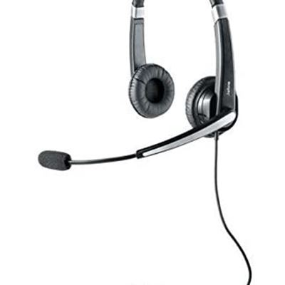 New Jabra UC VOICE 550 Duo Corded Headset for Softphone (Renewed)
