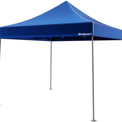 New Stalwart Pop-Up Instant Lightweight Canopy Tent, 10-Inch by 10-Inch, Blue