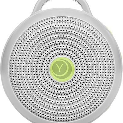 New Yogasleep Hushh Portable White Noise Machine for Baby | 3 Soothing, Natural Sounds with Volume Control | Compact for On-the-Go Use & Travel